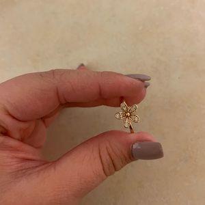 Size 6 Rose Gold Pandora Dazzling Daisy Ring
